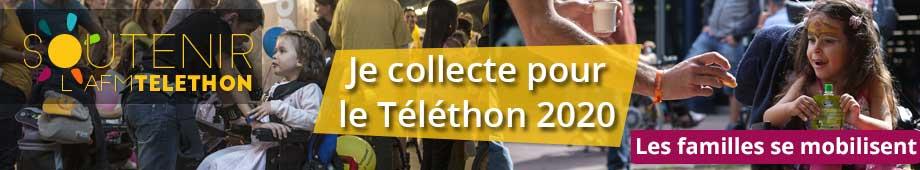 Créer sa page de collecte Téléthon
